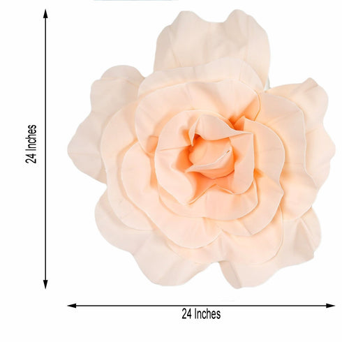 "2 Pack 24"" Large Rose Gold 