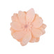 "4 Pack 12"" Real Feel Foam Dahlia Flowers - Rose Gold 