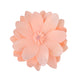 "4 Pack 16"" Real Feel Foam Dahlia Flowers - Rose Gold 