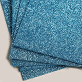 "10 Pack - Glitz & Glam 9.5"" x 12"" Metallic Foam Sheet - Serenity Blue"