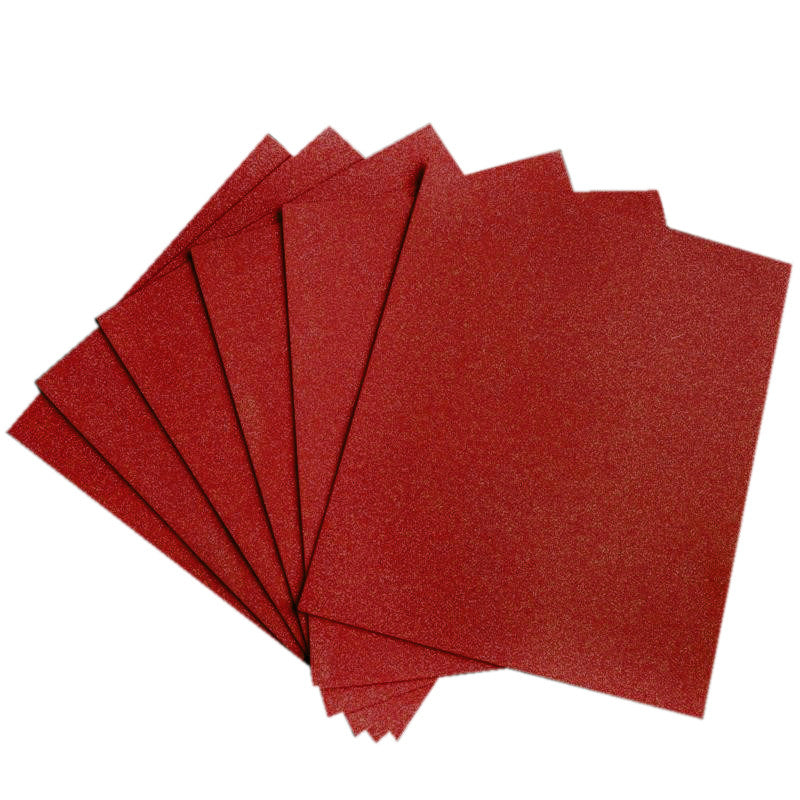 10 pcs wholesale glittered metallic foam craft art sheets for Red craft foam sheets