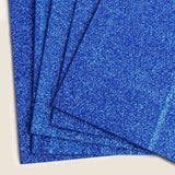 "10 Pack - Glitz & Glam 9.5"" x 12"" Metallic Foam Sheet - Royal Blue"