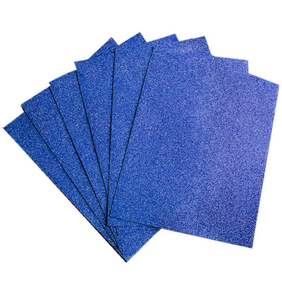 "10 Pack 12"" Royal Blue Ultra-Glitter Foam"