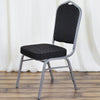 2 PCS Black Iron Banquet Chairs for Party Event