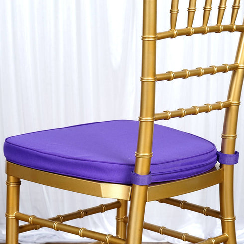 "Tables and Seating Chiavari Chair Cushion - Purple 1.75"" Thick"