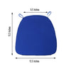 Tables and Seating Chiavari Chair Cushion - Royal Blue 1.75inches Thick