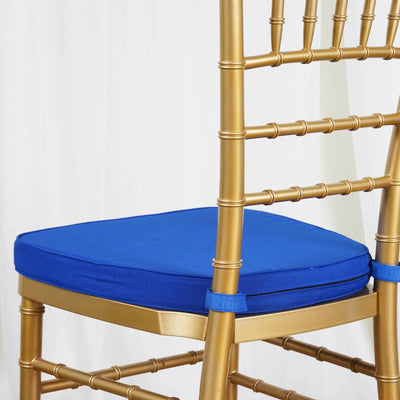 "Tables and Seating Chiavari Chair Cushion - Royal Blue 1.75"" Thick"