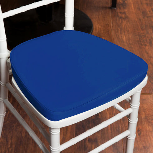 "2"" Thick Chiavari Cushion for Beechwood Chairs - Royal Blue"