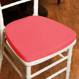"2"" Thick Wholesale Coral Chiavari Cushion for Beechwood Chairs Party Event"