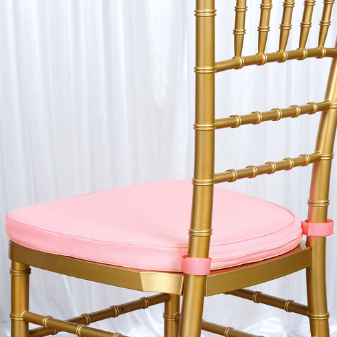 "Tables and Seating Chiavari Chair Cushion - Blush Pink 1.75"" Thick"