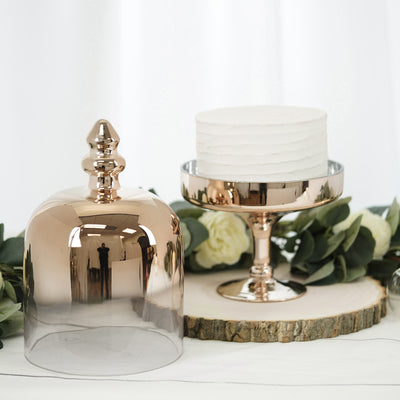 "16"" Champagne Cake Dome 
