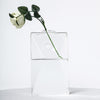 3 Pack | Trapezoid Shaped Glass Wall Vase | Hanging Glass Terrarium | Indoor Wall Planters