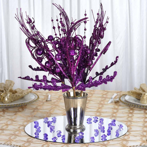 4 Glitter Frenzy Bush - Purple