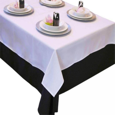 "Tuscany-Inspired *250gsm Tablecloth- 108"" Round Ivory"