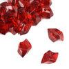 300 Pack Burgundy Large Acrylic Ice Bead Vase Fillers Table Decoration