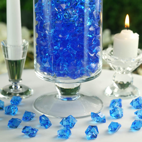 300 Pack Ocean Acrylic Ice Table Vase Decoration