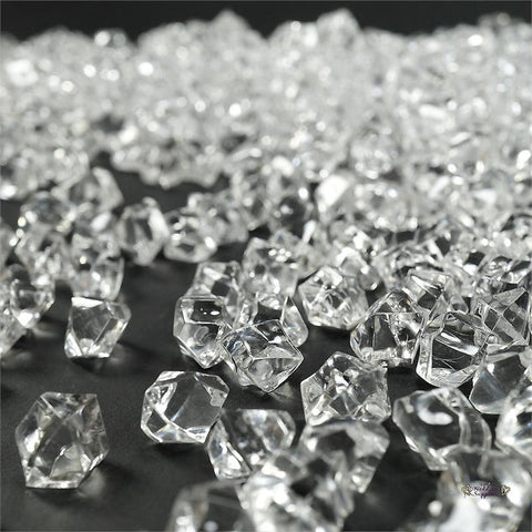 Mini Acrylic Ice Rock Crystals-Clear-400pcs