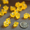 400 Pack Gold Mini Acrylic Ice Bead Vase Fillers Table Decoration