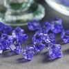 400 Pack Purple Mini Acrylic Ice Bead Vase Fillers Table Decoration