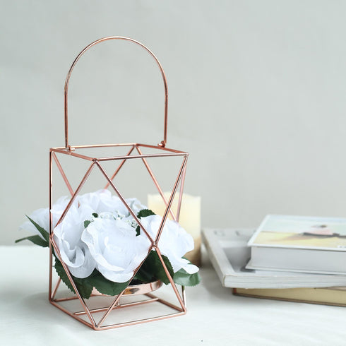 Geometric Tea Light Candle Holders, Hanging lanterns, Lantern Centerpieces