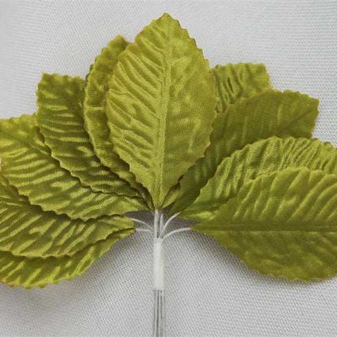 144 Burning Passion Leafs for Craft - Sage Green