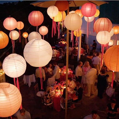 Chinese Lanterns, Paper Lanterns, Ceiling Decoration