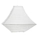 3 Pack White Attractive Pagoda Paper Lanterns