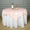 "60""x60"" Square Blush 