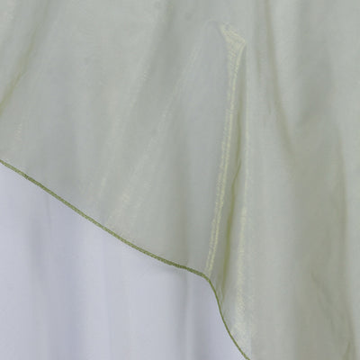 "Organza Overlay 60""x60"" - Moss / Willow"
