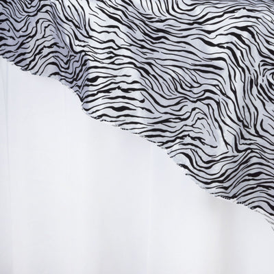 "Abstract Overlay 60""x60"" - Black / White"