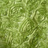 "Wonderland Rosette Overlay 72""x72"" - Apple Green"