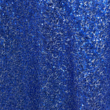 "LUXURY COLLECTION Duchess Sequin Overlay 72"" x 72"" - Royal Blue"