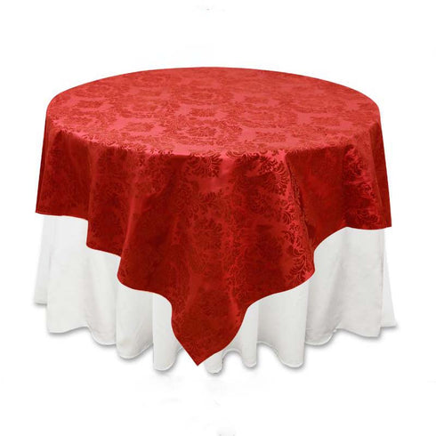 "72"" x 72"" Red 