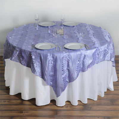 "Paradise Forest Taffeta Overlay 72""x72"" - Lavender"