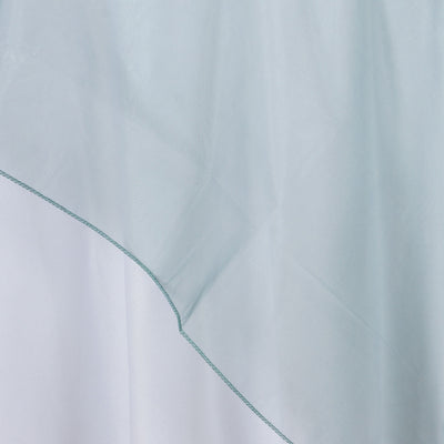 Hunter Green Organza Overlay 72x72""