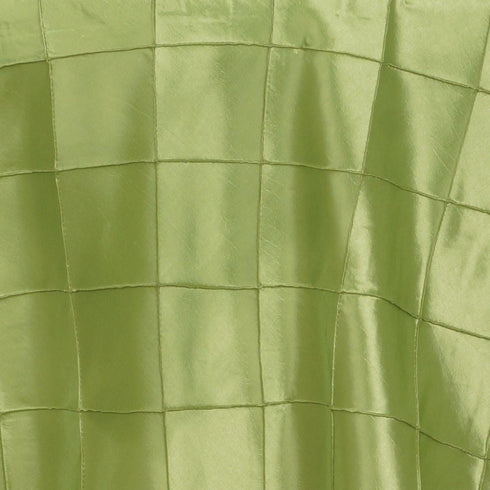 "Apple Green Pintuck Overlay 85""x85"""