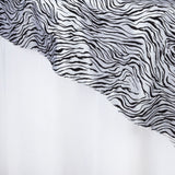"Abstract Overlay 90""x90"" - Black / White"