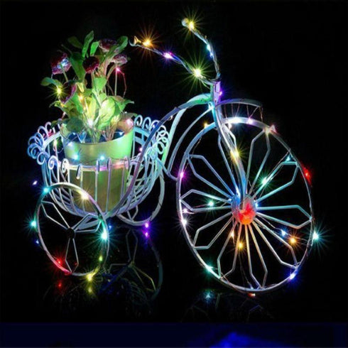 7.5 FT Assorted Starry String Lights Battery Operated with 20 Micro Bright LEDs