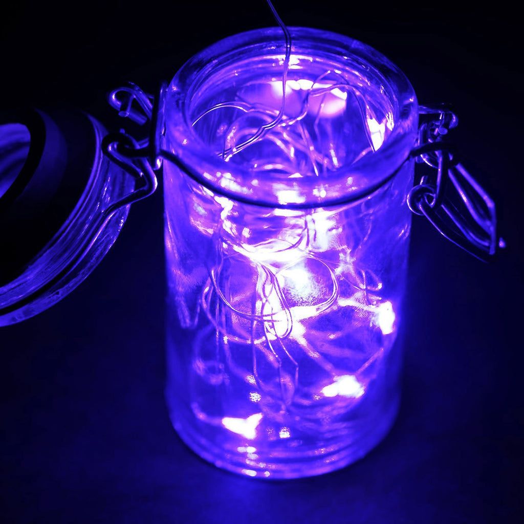 Purple Fairy String Lights : 6FT Purple Wedding Party Decor Outdoor LED Light Lamp Fairy String eFavorMart