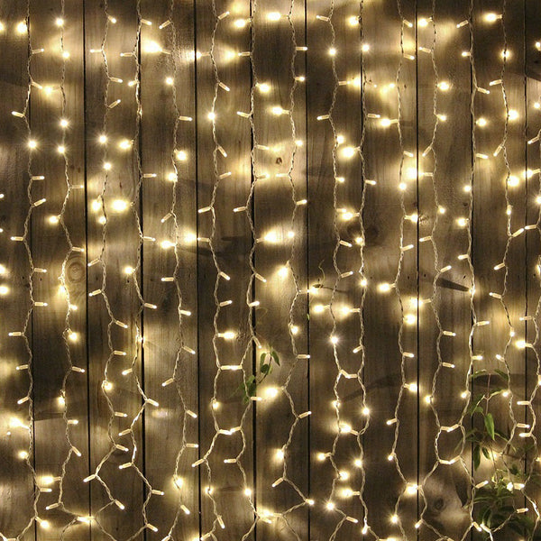 30ft Rhythmic Sequence Party Outdoor Fairy String Backdrop