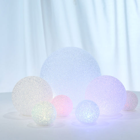 Color Changing Portable LED Centerpiece Ball Lights, Battery Operated LED Orbs