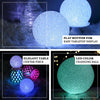 "2 Pack - 6"" Color Changing Portable LED Centerpiece Ball Lights, Battery Operated LED Orbs"