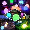 Cordless Floating Pool Lights with Remote, Garden Lights 16 RGB Colors Light Up Ball
