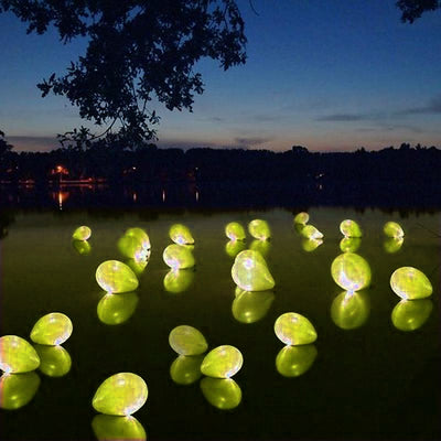 "LED Light Up Latex Balloons - 12"" - Yellow - 10pcs"