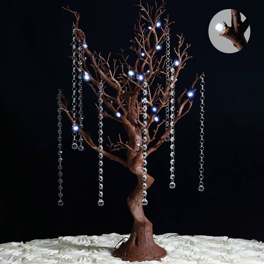 "30"" Vogue Manzanita Centerpiece Tree with LED lights - Natural"