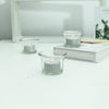 12 Pack | Glitter Flameless Candles LED | Tea Light Candles - Silver | eFavormart