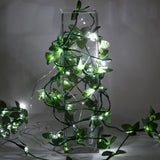 "Pre Lit Battery Operated Wedding Christmas Decorative White Fairy Lights 72"" Long - 4 PCS"