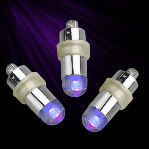 Light The Way 12pcs Purple LED Floralyte Vase Lights