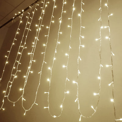 30FT | 100 LED UL Approved Warm White Sequential String Lights