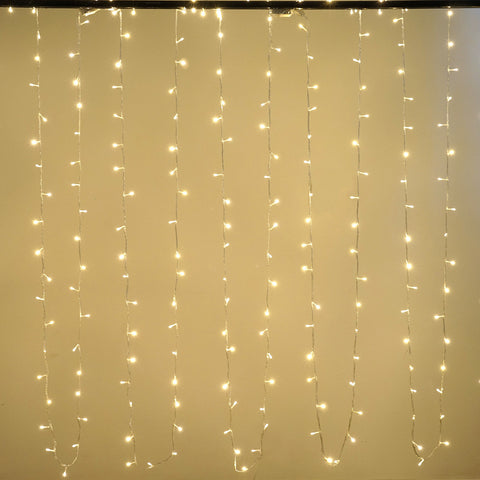 28FT 100 LED Sequential String Light For Wedding Party Event Decoration - Warm White